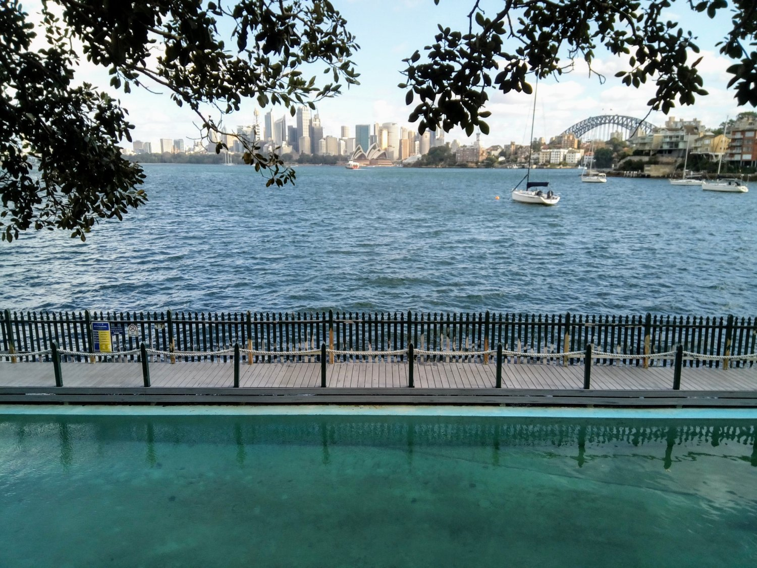 Balade Cremorne Point